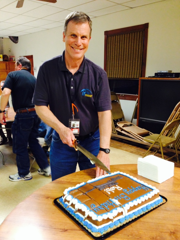 The ARPC celebrates Rob's 54th birthday during April's monthly meeting